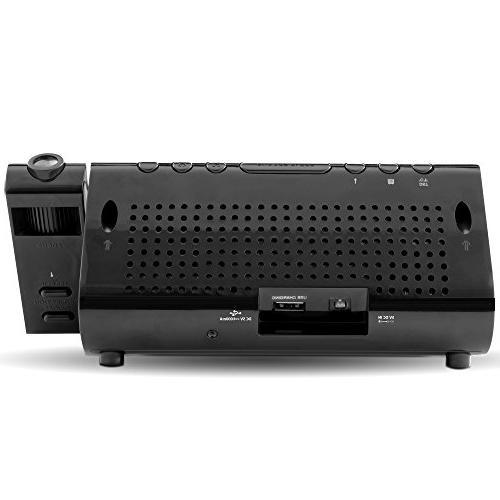 Electrohome Radio 0.5 RMS 2 x Alarm - AM, FM - Projector