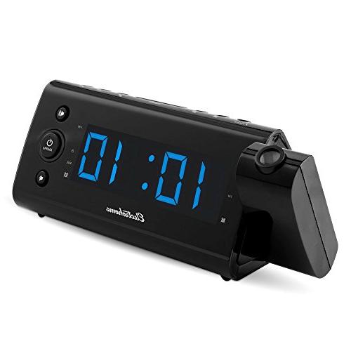 Electrohome EAAC475 Desktop Clock Radio RMS - - 2 x Alarm