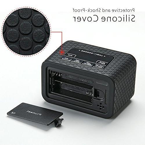 Easy Setting, Plumeet Digital and Nightlight Function, LCD Clock Easy Ascending Handheld Sized,