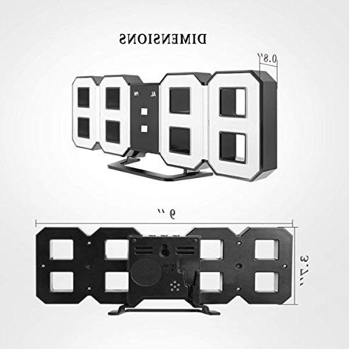 Perfeo LED Electronic Clock, Digital Hour Clock, Automatically