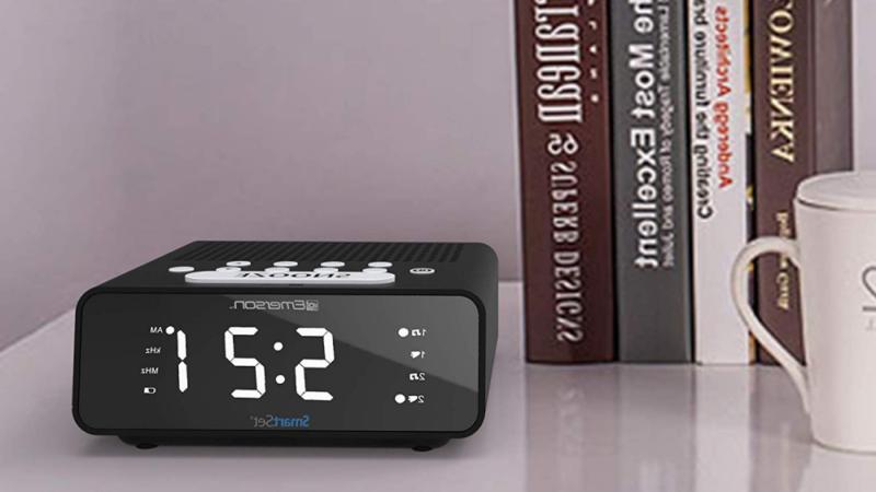 Emerson SmartSet Radio Dimmer, Sleep Time and