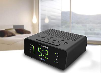 "Emerson SmartSet Clock w/AM/FM,0.9"" Large"