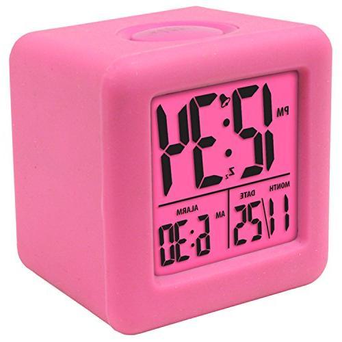 Equity by La Cube LCD Clock