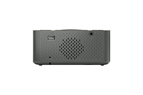 Emerson Clock Radio Speaker, Charging USB for iPhone/iPad/iPod/Android and ER100201