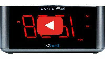 er100201 smartset alarm clock