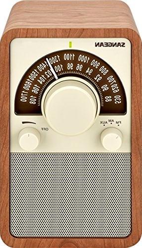 fm am wooden cabinet receiver