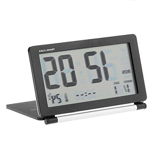 folding alarm clock desktop
