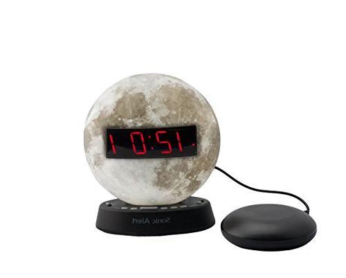 glow moonlight alarm clock