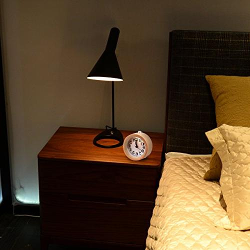 ECVISION Handmade Round beech Alarm with