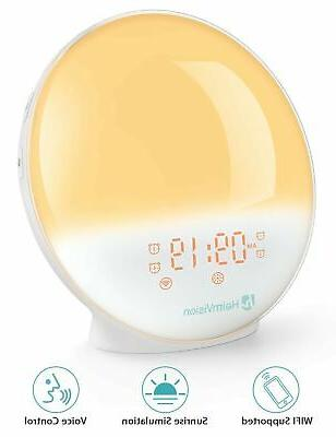 heimvision sunrise alarm clock smart wake up