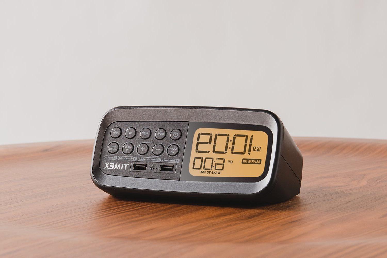 hotel timex alarm clock w dual usb