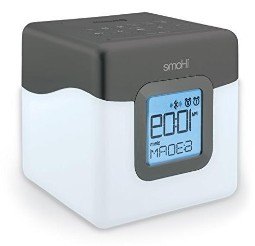iHome Bluetooth Color Changing Dual Alarm Clock FM Radio wit