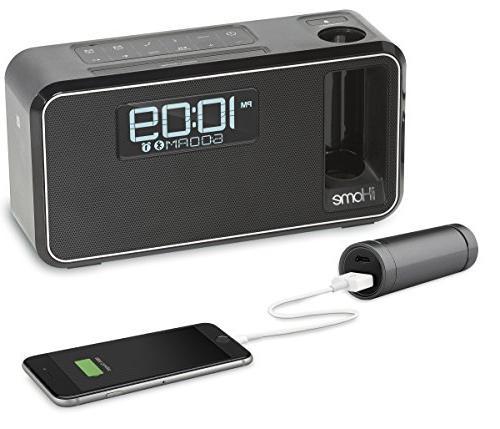 iHome Charging Bluetooth Stereo Alarm Radio/Speakerphone