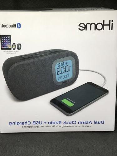 ibt210b bluetooth dual alarm fm