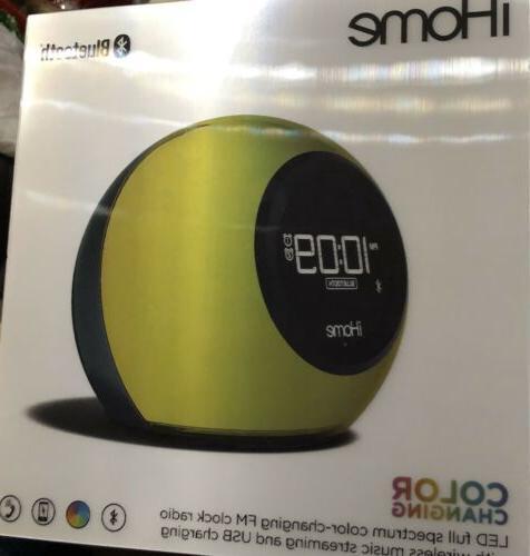 iHome Bluetooth Changing Wireless Speaker