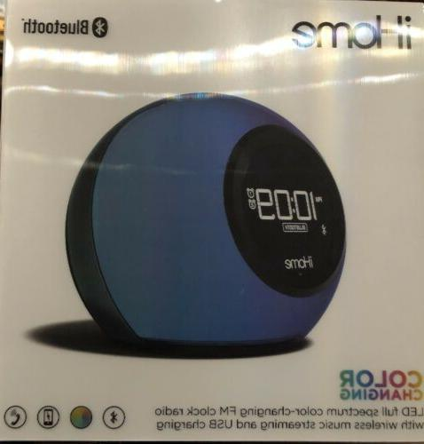 iHome iBT29 Bluetooth Clock and Changing