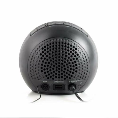 iHome iBT29BC Bluetooth Changing Dual Alarm FM Radi...