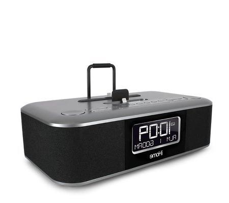 iHome iDL45BC Stereo FM with USB Charge/Play - Black