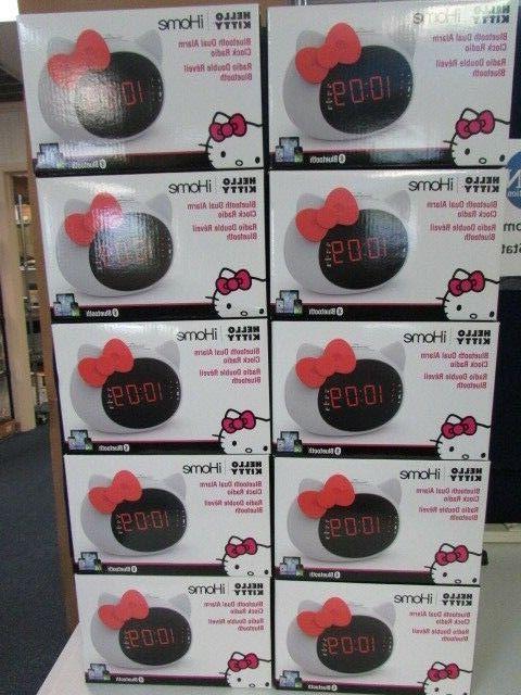 iHome Hello Kitty Bluetooth Dual Alarm Speaker