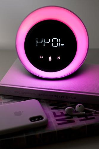 iHome Clock Radio Changing Mobile Devices, Voice Controls, Smart Wireless Streaming