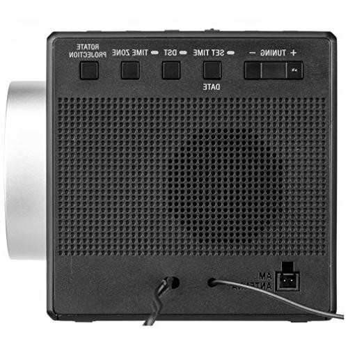 New Clock 5 Radio, Calendar, LED Display USB Port + Rplc.