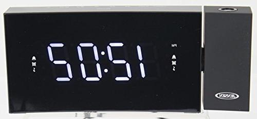 Jensen FM USB & Time Backup, LED Display & Tablets,