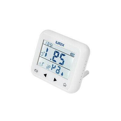 KERUI TD32 Adjustable Temperature And Humidity Alarm T4S5