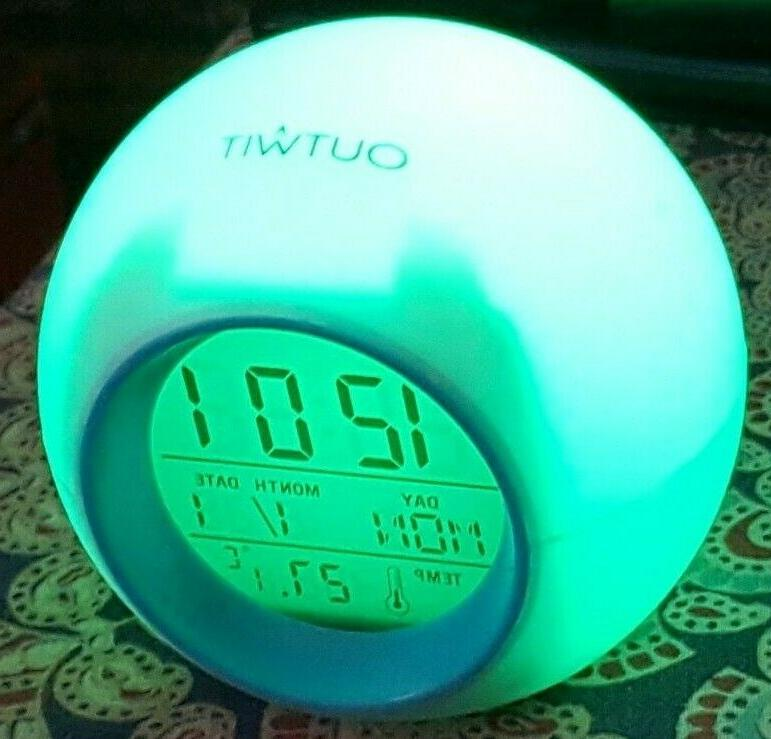 OUTWIT Kids Alarm 2020 Digital Clock