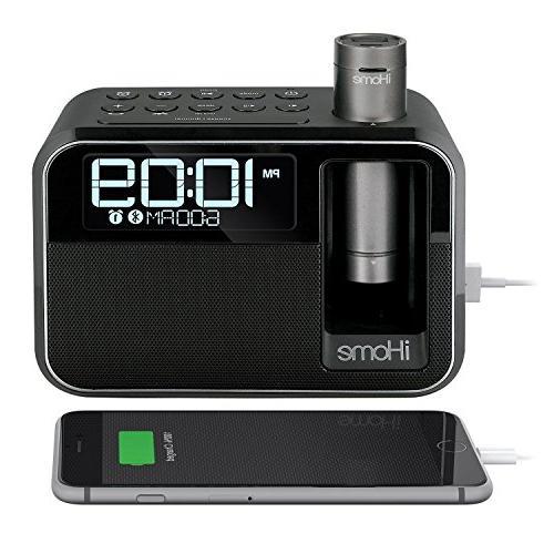 kineta dual charging alarm clock