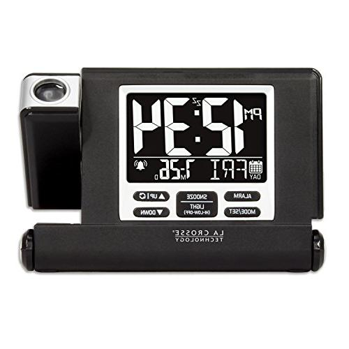 La Travel Alarm with Fold-Out Stand