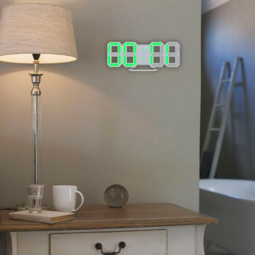 Clock Desk Table Snooze Display USB