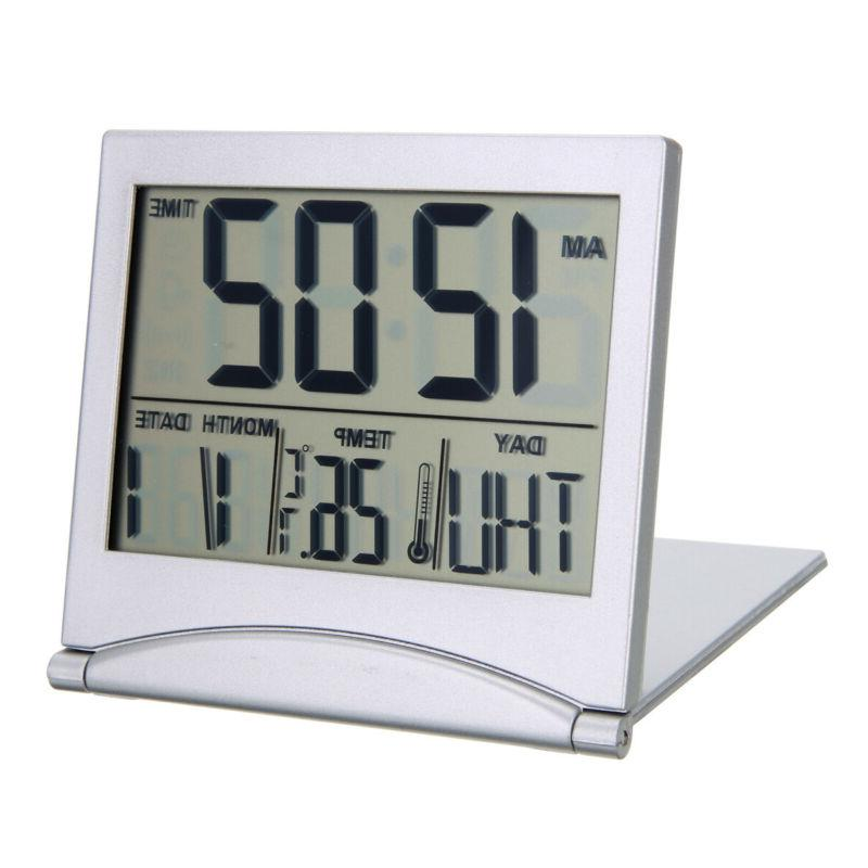Digital Travel Folding Desk w/ Thermometer