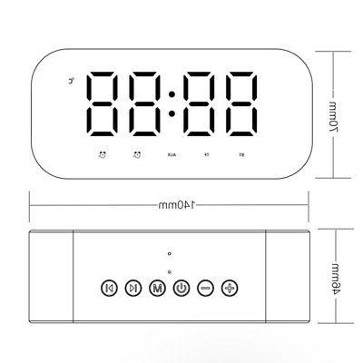 led alarm clock for bedroom digital clock