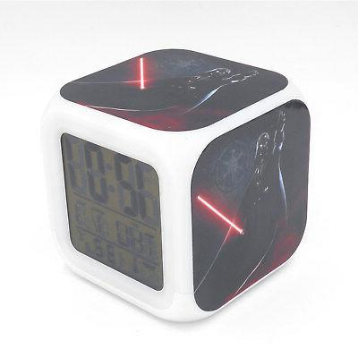 led alarm clock star wars darth vader