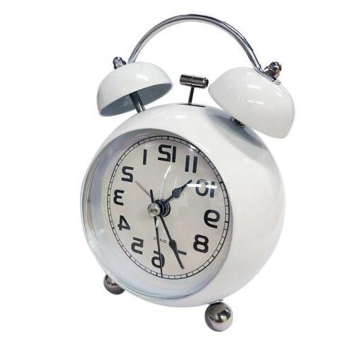 3 inch home alarm clock mute night light