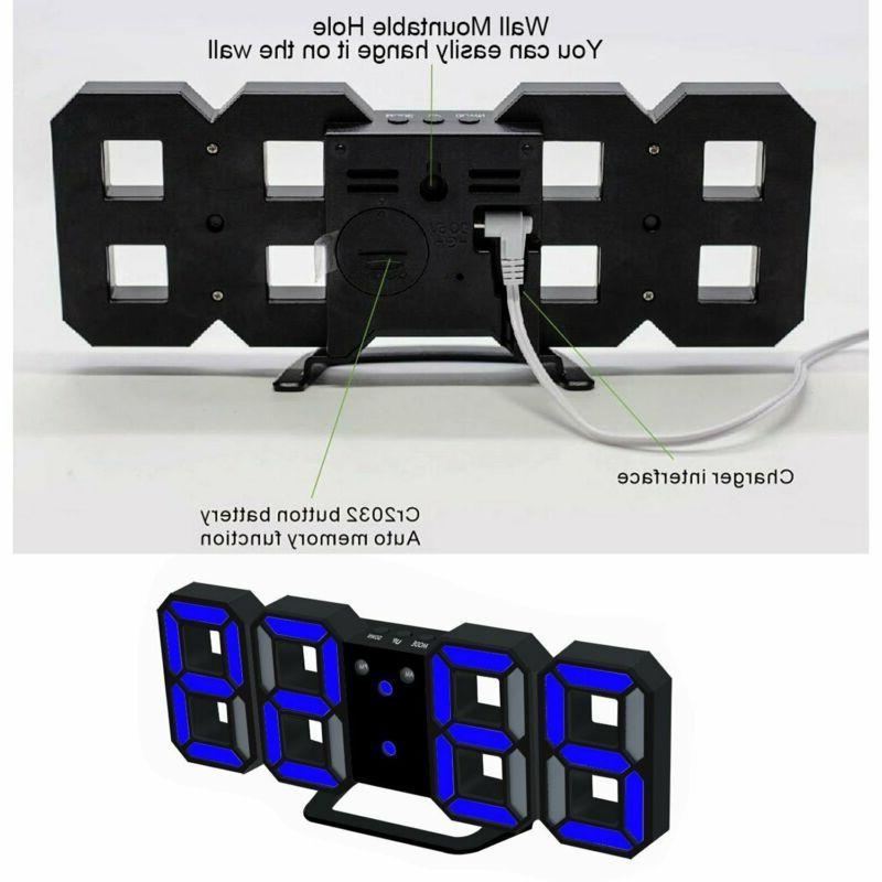 LED Digital Alarm Clock For / Tabletop, Decoration W