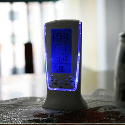 Table Alarm Clock Backlight Display Thermometer