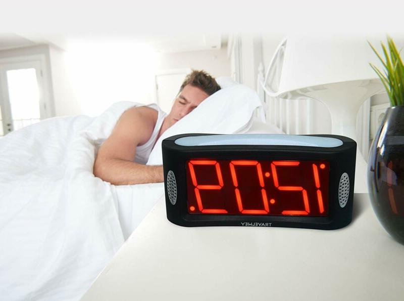 Travelwey LED Clock Outlet No