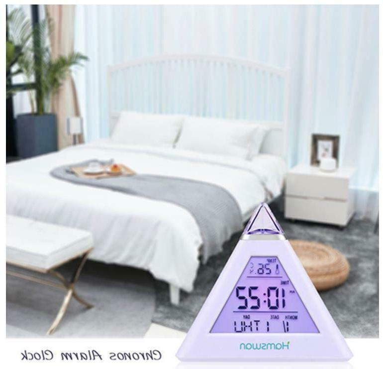 LED Alarm Snooze Calendar