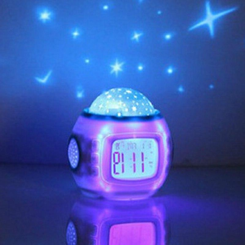 Snooze Glowing <font><b>Alarm</b></font> For Baby Thermometer Night