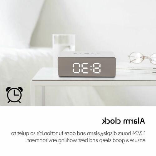 LED Mirror Clock Clock USB