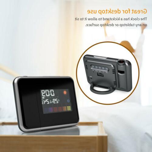 LED Clock Radio Snooze Backlight