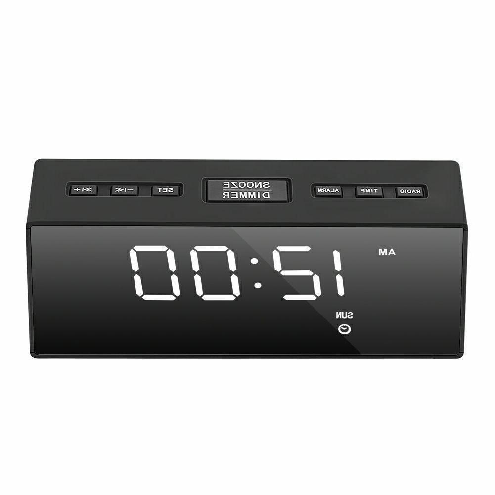 USB LED Clock FM Battery