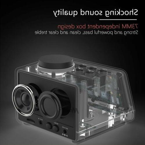 LED Bluetooth Alarm FM Radio with Dual Port