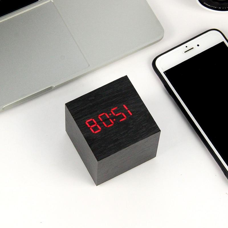 LED <font><b>Clock</b></font> Watch Table Digital Electronic Desktop