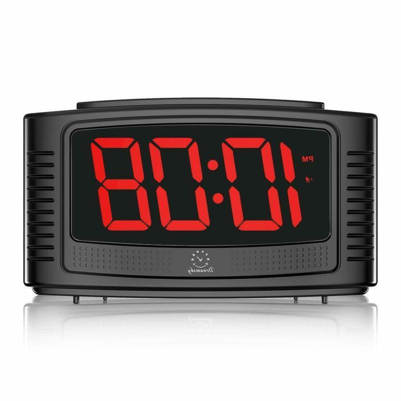 little digital alarm clock with snooze 1