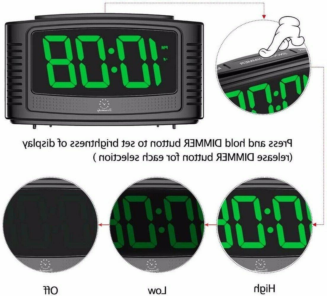 DreamSky Little Alarm Clock with Clear Led Digit Simple