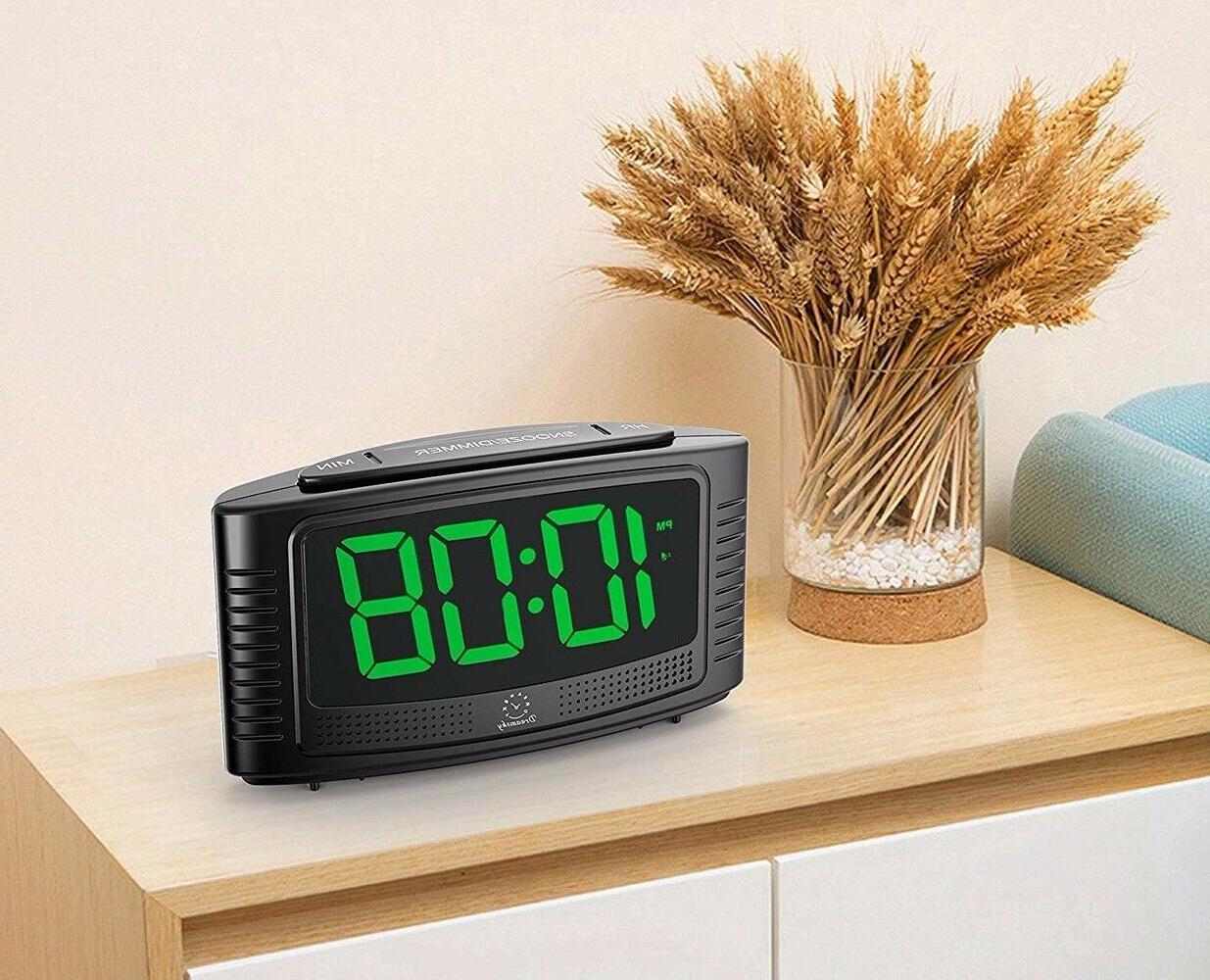 DreamSky Little Alarm Clock Snooze, Led Digit Simple