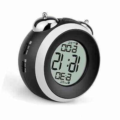 loud alarm clock for heavy sleepers battery