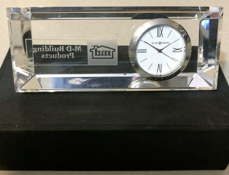 m d building products prism crystal clock